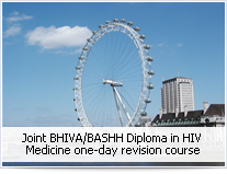 Joint BHIVA/BASHH Diploma in HIV Medicine one-day revision course