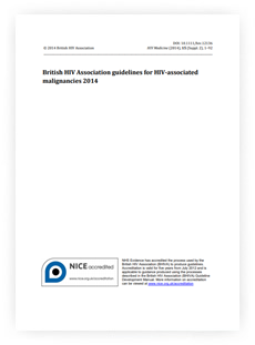 British HIV Association guidelines for HIV-associated malignancies 2014