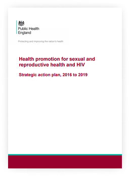 Health promotion for sexual and reproductive health and HIV: strategic action plan, 2016 to 2019