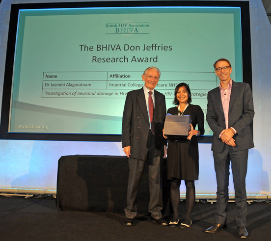 The BHIVA Don Jeffries Research Award