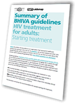 Summary of BHIVA guidelines