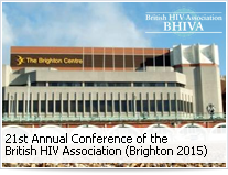 21st Annual Conference of BHIVA (Brighton 2015)