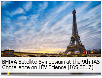 BHIVA Satellite Symposium at the 9th IAS Conference on HIV Science (IAS 2017)