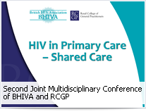 HIV in Primary Care Update - Shared Care