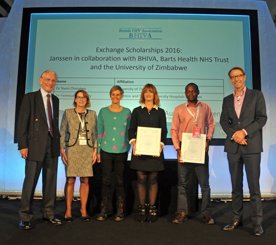 Janssen Exchange Scholarships 2016 in collaboration with BHIVA, Barts Health NHS Trust and University of Zimbabwe