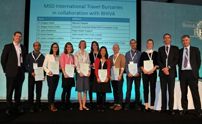 MSD International Travel Bursaries in collaboration with BHIVA