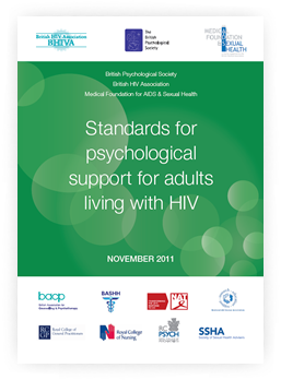 Standards for psychological support for adults living with HIV