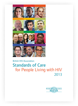 Standards of care for people living with HIV in 2013