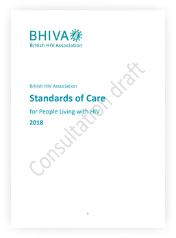 Standards of care for people living with HIV 2018