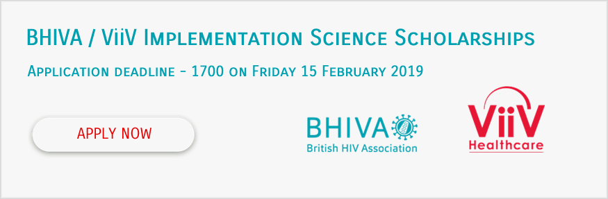 BHIVA/ViiV Implementation Science Scholarships